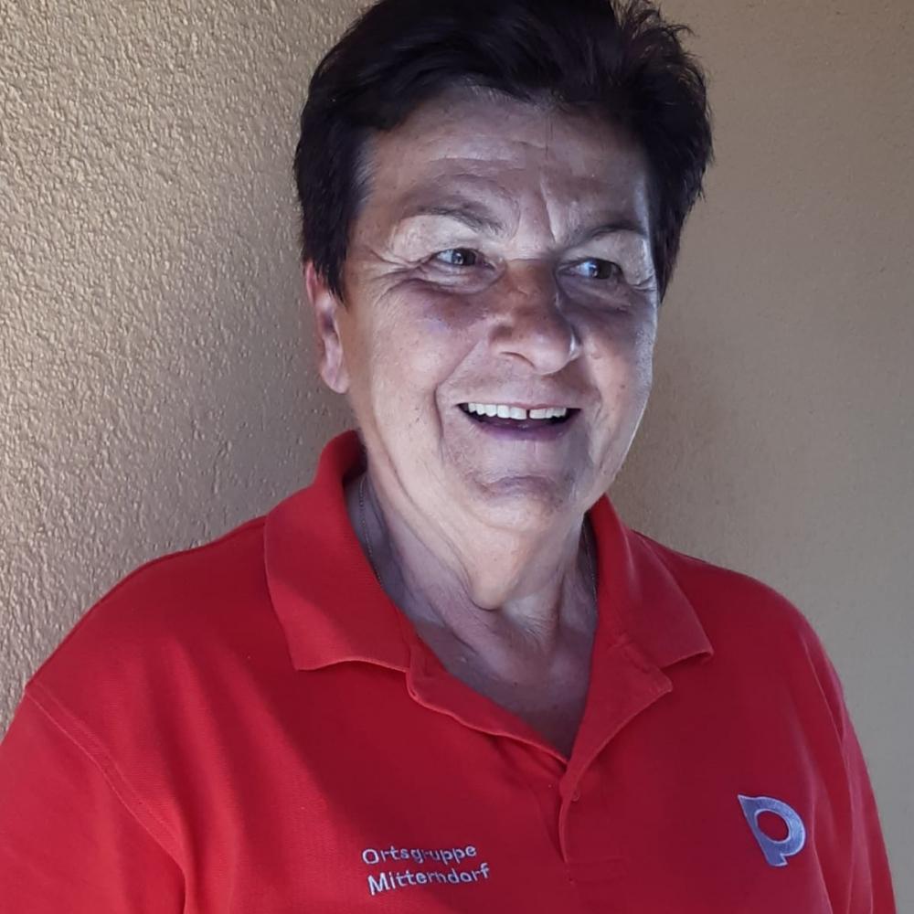 Portrait: Gerda Lahner Obfrau im Pensionistenverband
