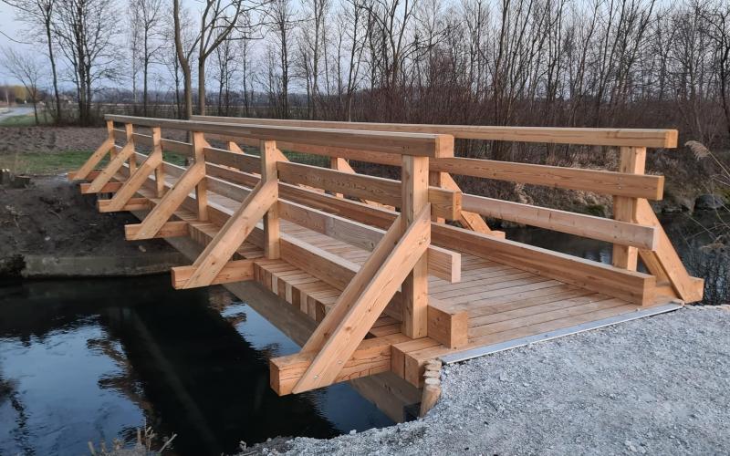 Die Brücke ist eröffnet